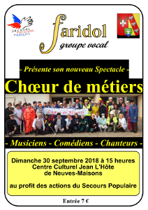 Affiche du spectacle à Neuves-Maisons
